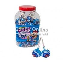 Fiesta Mister Bubble Gum Lolly''s Painter 100 Stuks