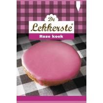 De Lekkerste Roze Koek 55 Gram 18 Stuks
