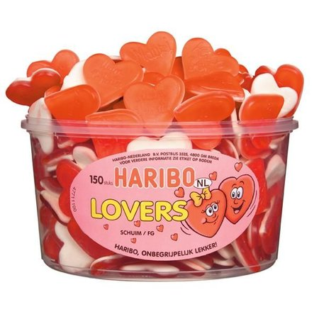 Haribo Haribo Silo Lovers 150 Stuks 1200 Gram