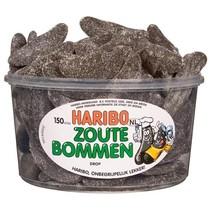 Haribo Silo Zoute Bommen 150 Stuks 1350 Gram
