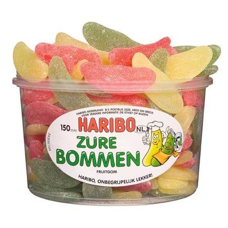 Haribo Haribo Silo Zure Bommen 150 Stuks 1350 Gram