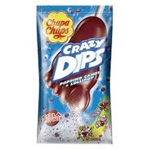 Chupa Chups - Crazy Dips Cola Lolly + Knetter