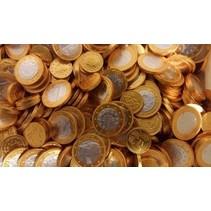Steenland - Chocolademunten Goud/Zilver 2 Kilo
