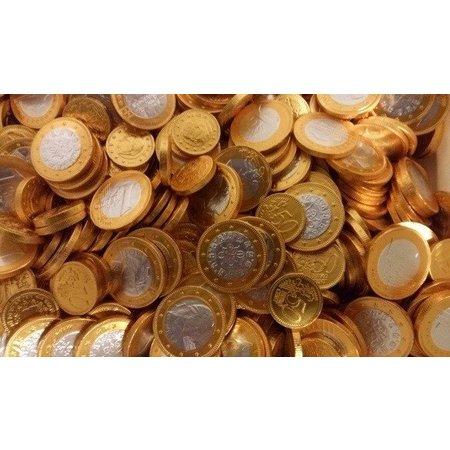 Steenland Steenland - Chocolademunten Goud/Zilver 2 Kilo