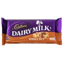Cadbury Dairy Whole Nuts 200 Gram