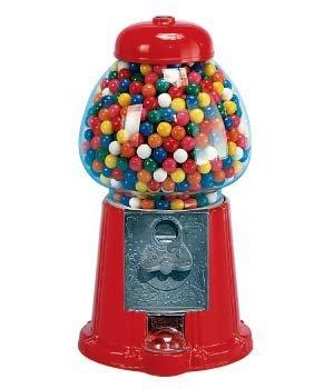 Overige Kauwgomballen Automaat Rood Middel 23cm