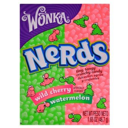 Wonka Wonka Nerds Wild Cherry & Watermelon