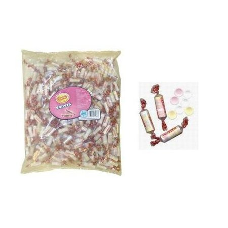 Candyman Candyman Snipit Rolletjes Fruit Snoepjes 245 Stuks