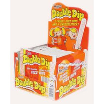 Swizzels Double Dip Cherry Orange 36 Stuks