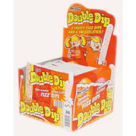 Swizzels Swizzels Double Dip Cherry Orange 36 Stuks