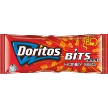 Doritos Bits Twist Honey (Rood) 30 Gram 30 Stuks