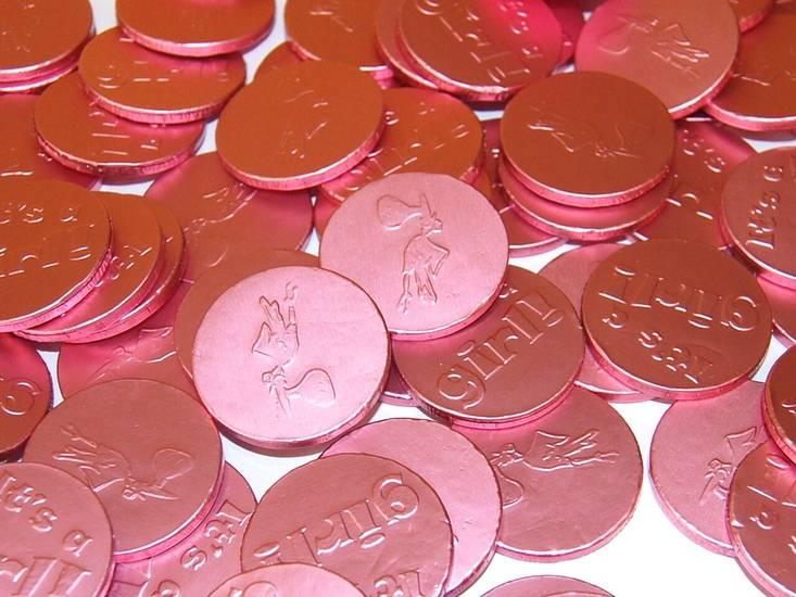 Overige Chocolademunten It's A Girl 780 Gram