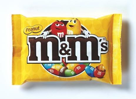 M&M's M&M´s Pinda 45 Gram 24 Stuks