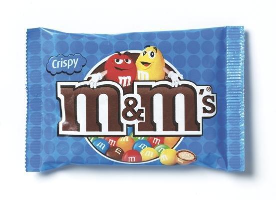 M&M's M&M's Crispy 36 Gram 24 Stuks