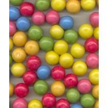 Kauwgomballen Middel  /- 1,7 Cm 2,5 Kilo 890 Stuks