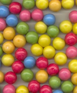 Overige Kauwgomballen Middel  /- 1,7 Cm 2,5 Kilo 890 Stuks