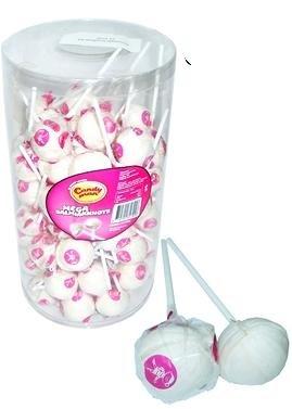 Candyman Candyman Mega Salmiak Knotsen 75 Stuks