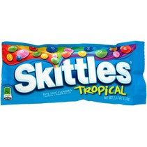 Skittles Tropical Fruit 61,5 Gram
