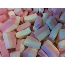 Blok Spek Wit/Roze 15 Stuks