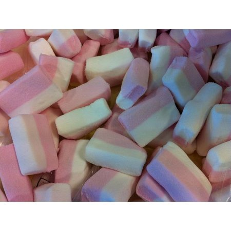 Overige Blok Spek Wit/Roze 15 Stuks