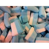 Blok Spek Wit/Blauw 15 Stuks