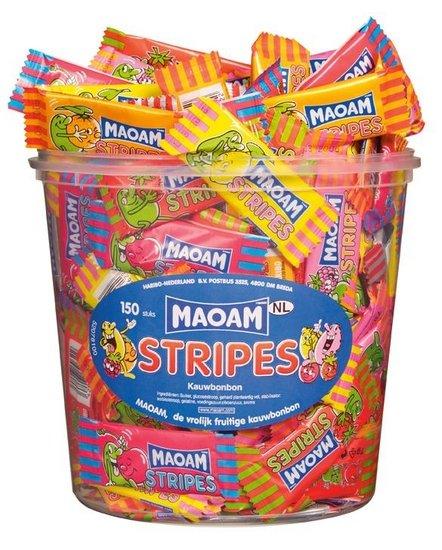 Maoam Maoam Stripes 150 Stuks