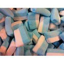 Blok Spek Wit/Blauw 2 Kilo