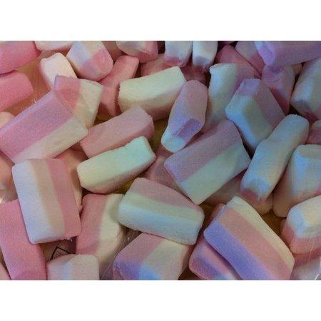 Overige Blok Spek Wit/Roze 2 Kilo