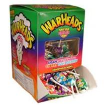 Warheads Mega Lollie 100 Stuks