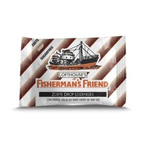 Fisherman's Friend Zoete Drop Lozenges  24 Zakjes