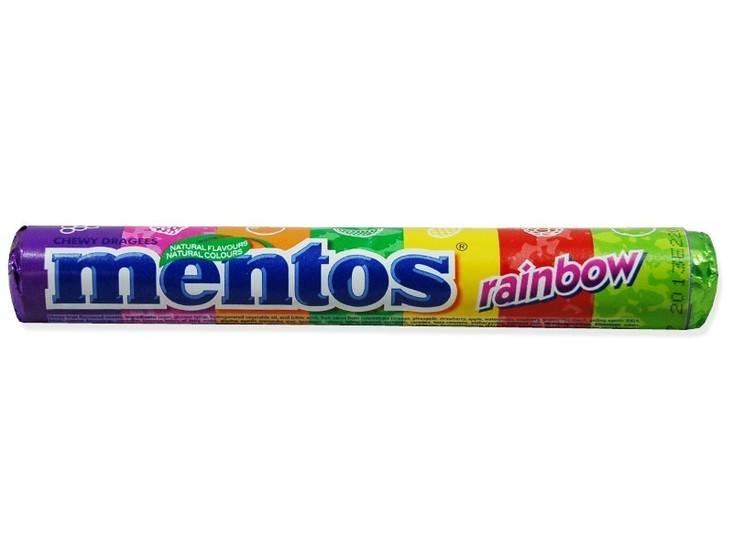 Mentos Mentos Rainbow 40 Rollen