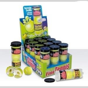 Fini Fini Tennisbal Kauwgom Koker 12 Stuks