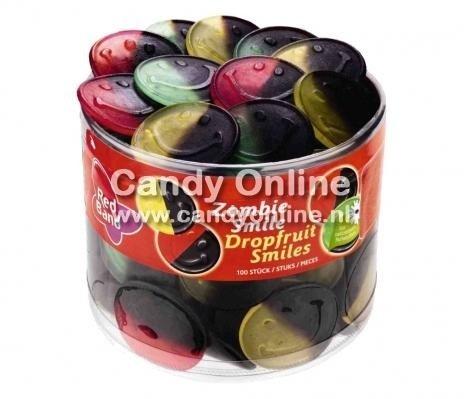 Red Band Red Band Zombie Drop-Fruit Smiles 1200 Gram 100 Stuks