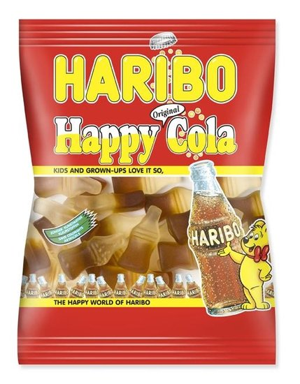 Haribo Haribo Cola Flesjes 75 Gram 30 Stuks