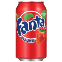 Fanta - Strawberry 355ml