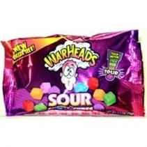 Warheads Sour Chewy Cubes 70 gram