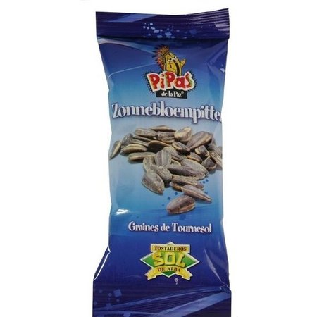 Pipas Pipas Zonnebloempitten 30 Gram 50 Zakjes