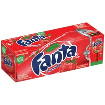 Fanta - Strawberry 355ml 12 Blikjes