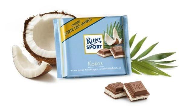 Ritter Sport Ritter Sport Cocos 100 Gram