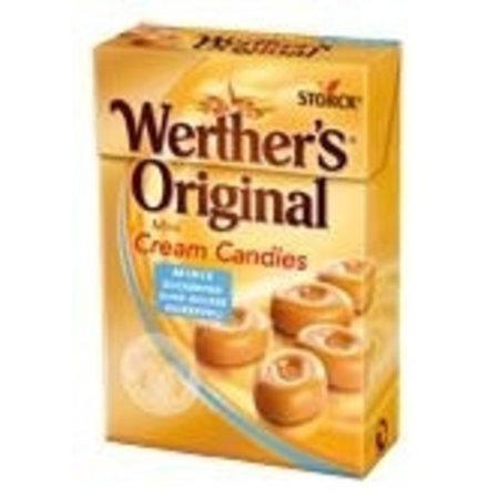 Overige Werthers Orginal Mini's Suikervrij 10 Doosjes
