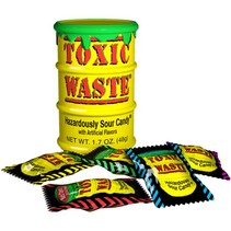 Toxic Waste Sour Candy Drum 42 Gram