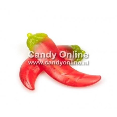Overige Winegum Pepers HOT!   250 gram