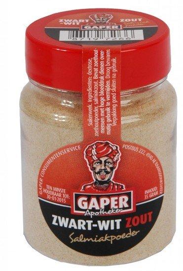 Gaper Gaper Zwart Wit Zout Salmiakpoeder 30 Gram