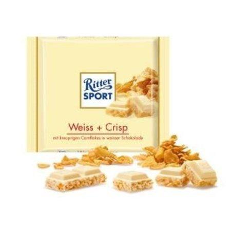 Ritter Sport Ritter Sport Weiss Crisp 100 Gram