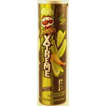 Pringles Extreme Screaming Dill Pickle 181 gram