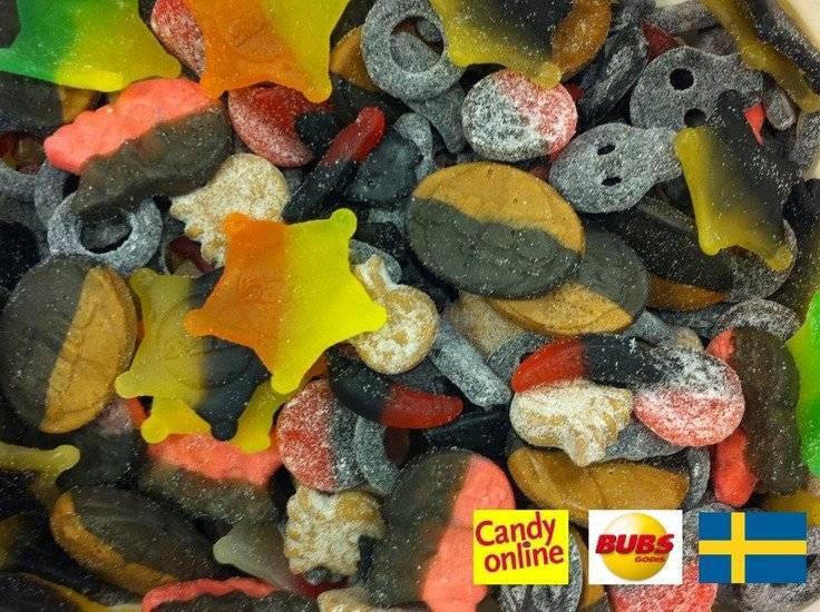Bubs Candyonline Zweedse Snoepmix Bubs Godis 1 Kilo ***SUPER SALE***