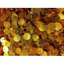 Chocolademunten 10,20,50 Centen 10 Kilo