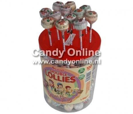 Candyman Candyman Double Lolly 100 Stuks