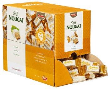 Lonka Lonka Soft Nougat Caramel 2.57 Kilo