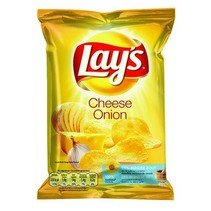 Lays Chips Cheese Onion 40 Gram 20 Zakjes